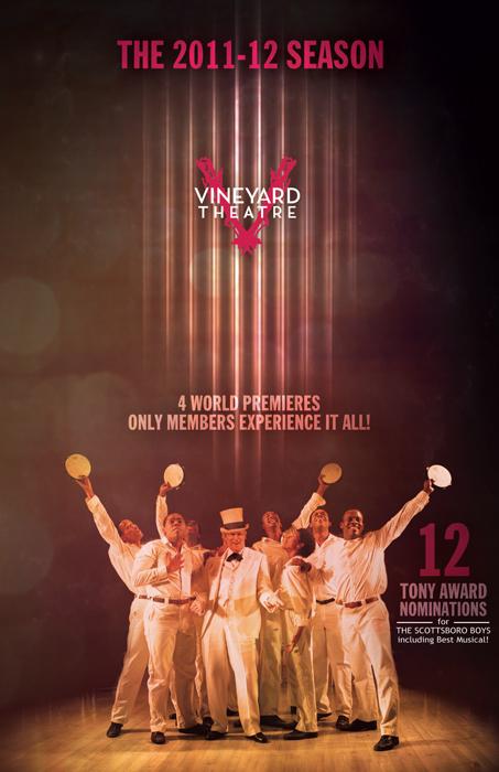 2011-12 Vineyard Theatre season brochure cover