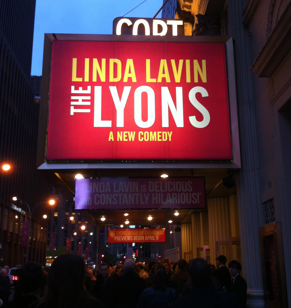 My first logo on Broadway!
