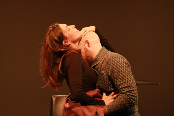 Eric Pargac and Aubrey Saverino as Dido & Aeneas. Photo by Larissa Nowak.
