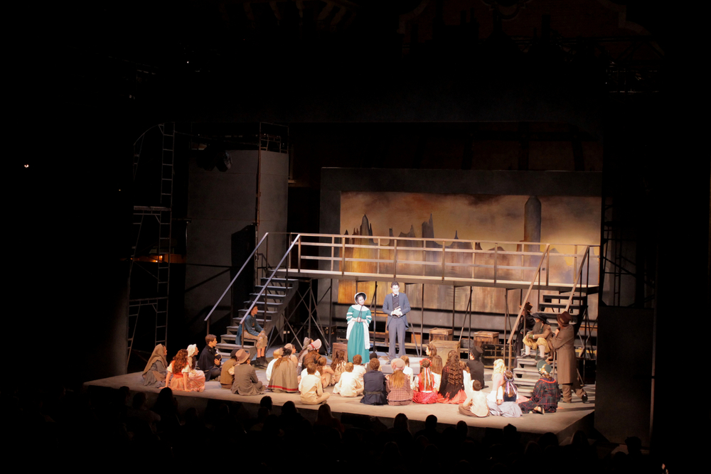 Oliver-  Park Playhouse in Albany  Directed by Tim Nelson; Scenic Design- Jeffrey Perri