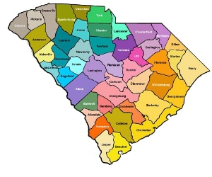 South Carolina counties served by LawyerLisa