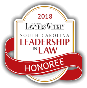 SC Leadership in Law Honoree 2018 South Carolina Lawyers Weekly Lisa Hostetler LawyerLisa