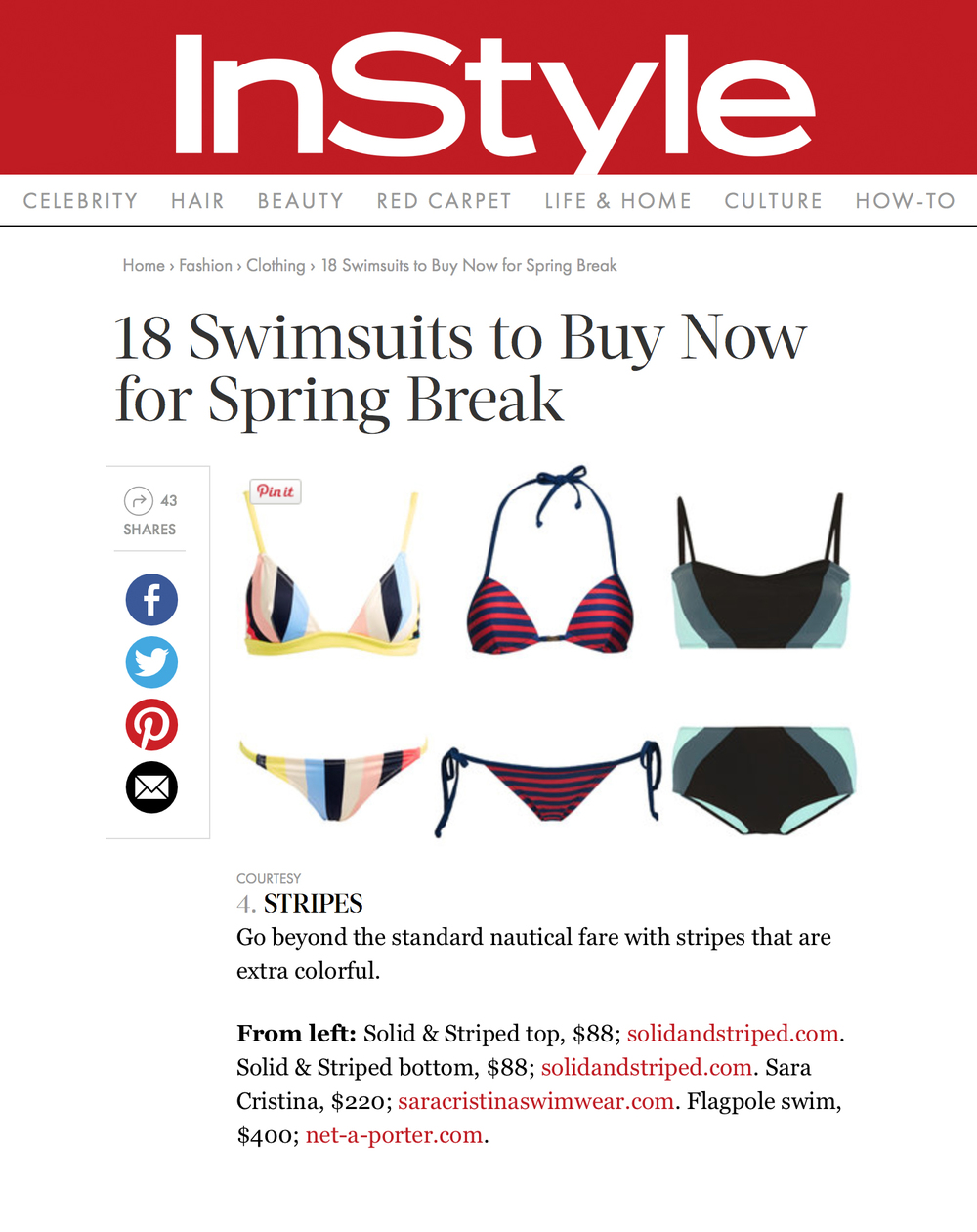 InStyle Online