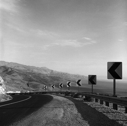 Outside Death Valley, CA : Photo by Shane Darwent