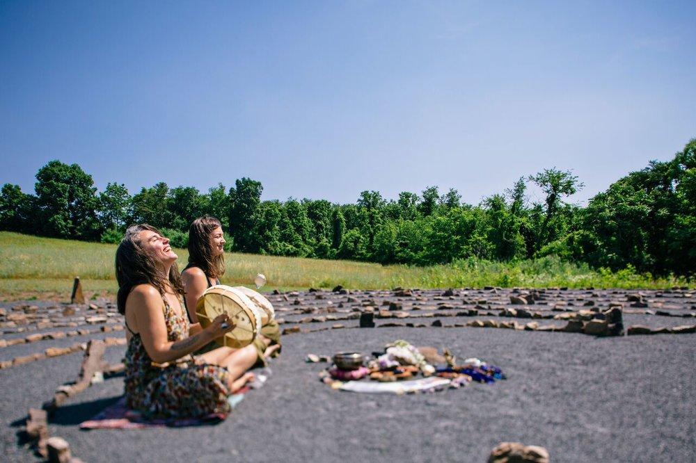 sacred women spiral :: a late summer healing retreat for women [8.22.19 through 8.26.19] -