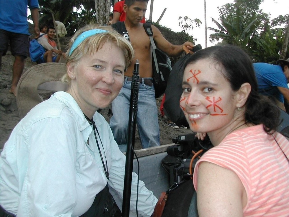 Francine and Laurel in Ecuador, 2007
