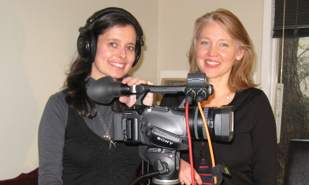 Co-producers, Directors Laurel Spellman Smith (left) and Francine Strickwerda.jpg