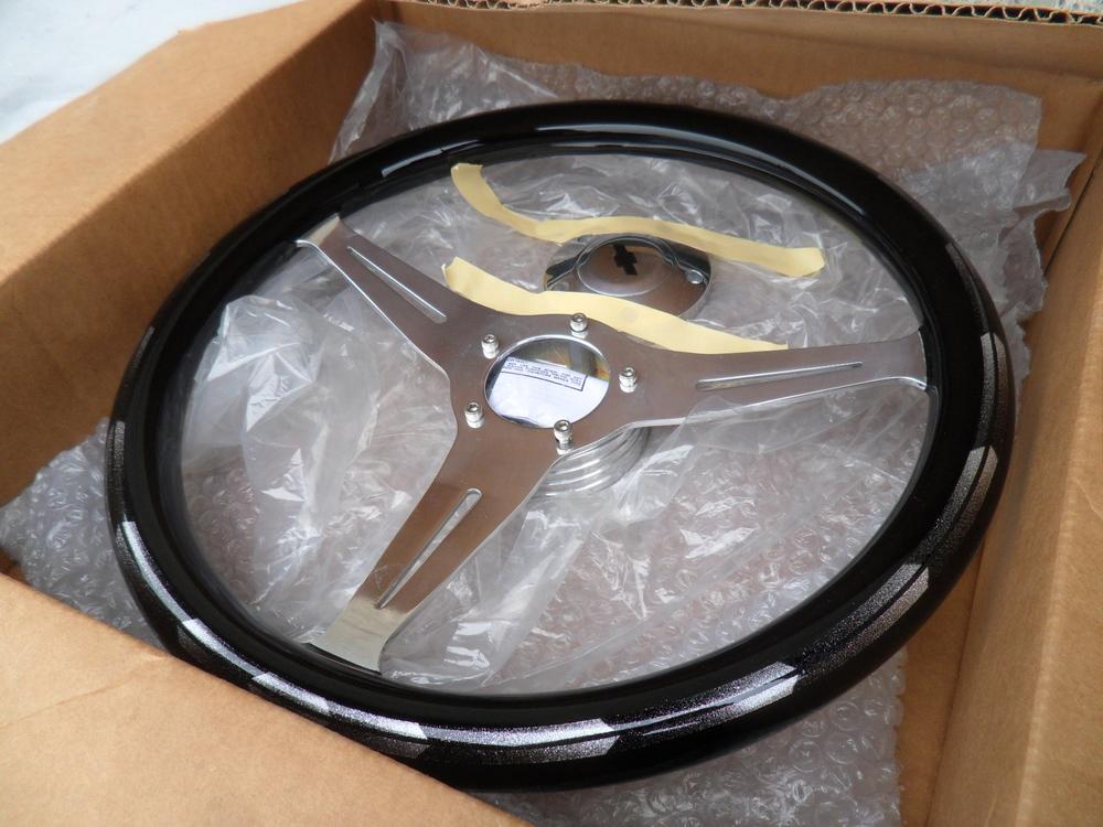 Painted Steering Wheel