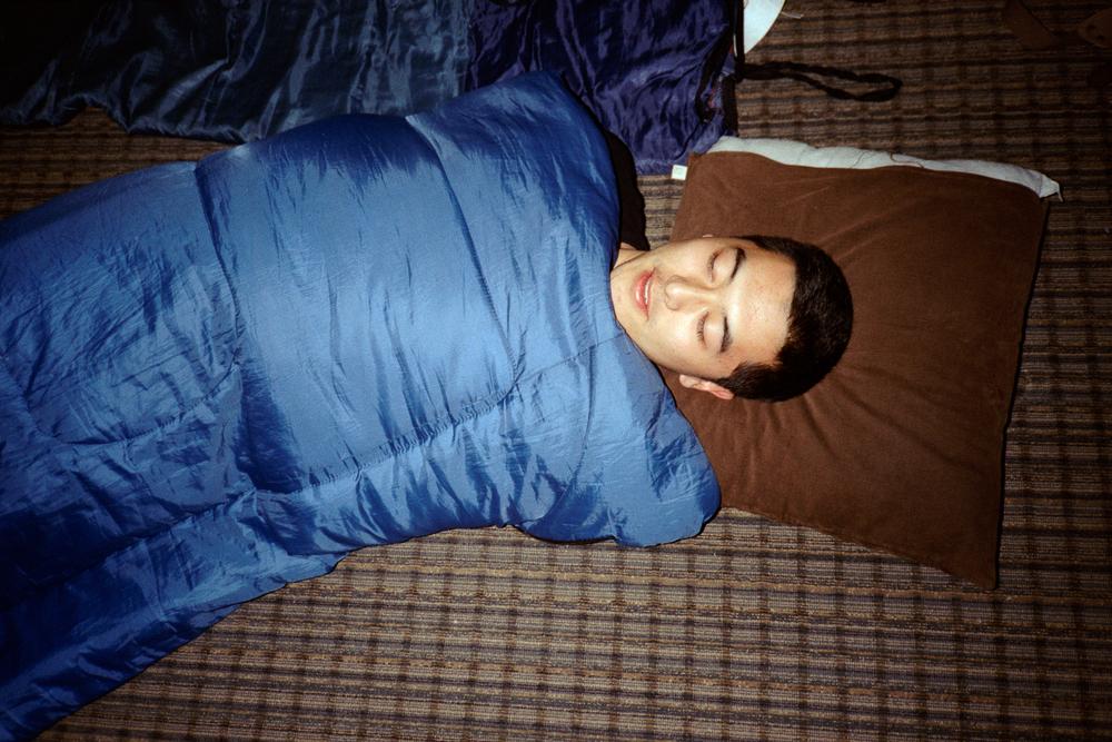 Viktor Going to Sleep