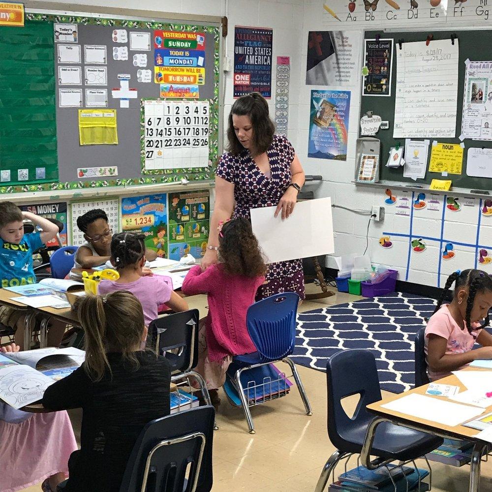 Mrs. Robert's 1st Grade Class