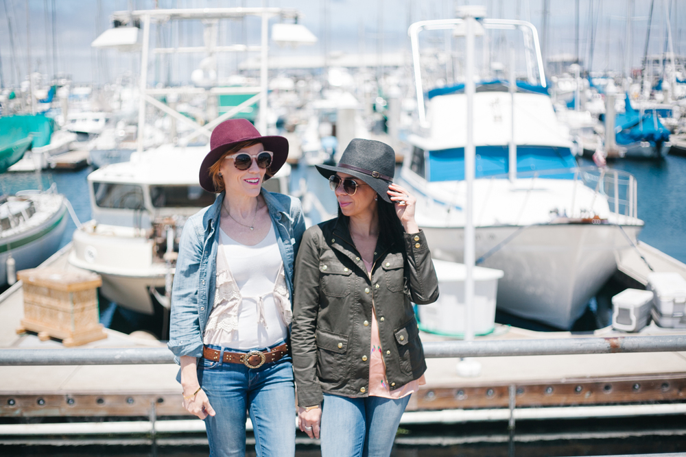 kelli and vanessa monterrey bay