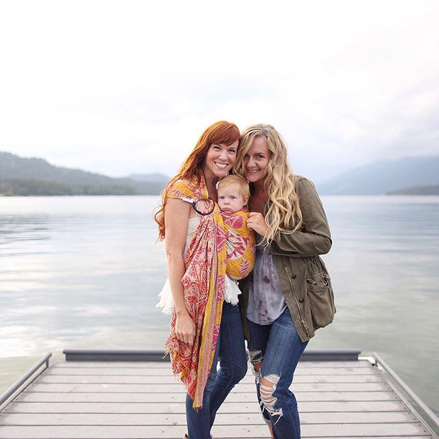 Look who came through Whitefish, MONTANA recently!! I love getting an opportunity to connect with moms who we featured years ago in our My Everyday series 💗 Much love for this sweet one @simplyrosiephotography
