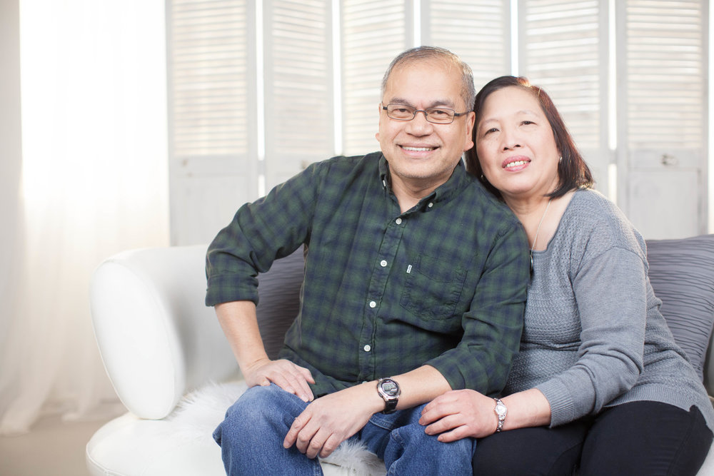 Meet my very loving parents. Our strong backbone,source of inspirational quotes, with love that makes our hearts (and tummies) full!