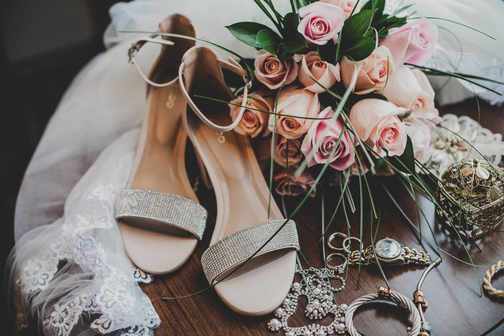 wedding-shoes-flowers-rings