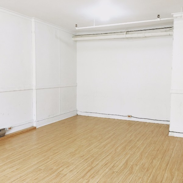 I know this looks like an empty room, but it is, in fact,  full of adventure !