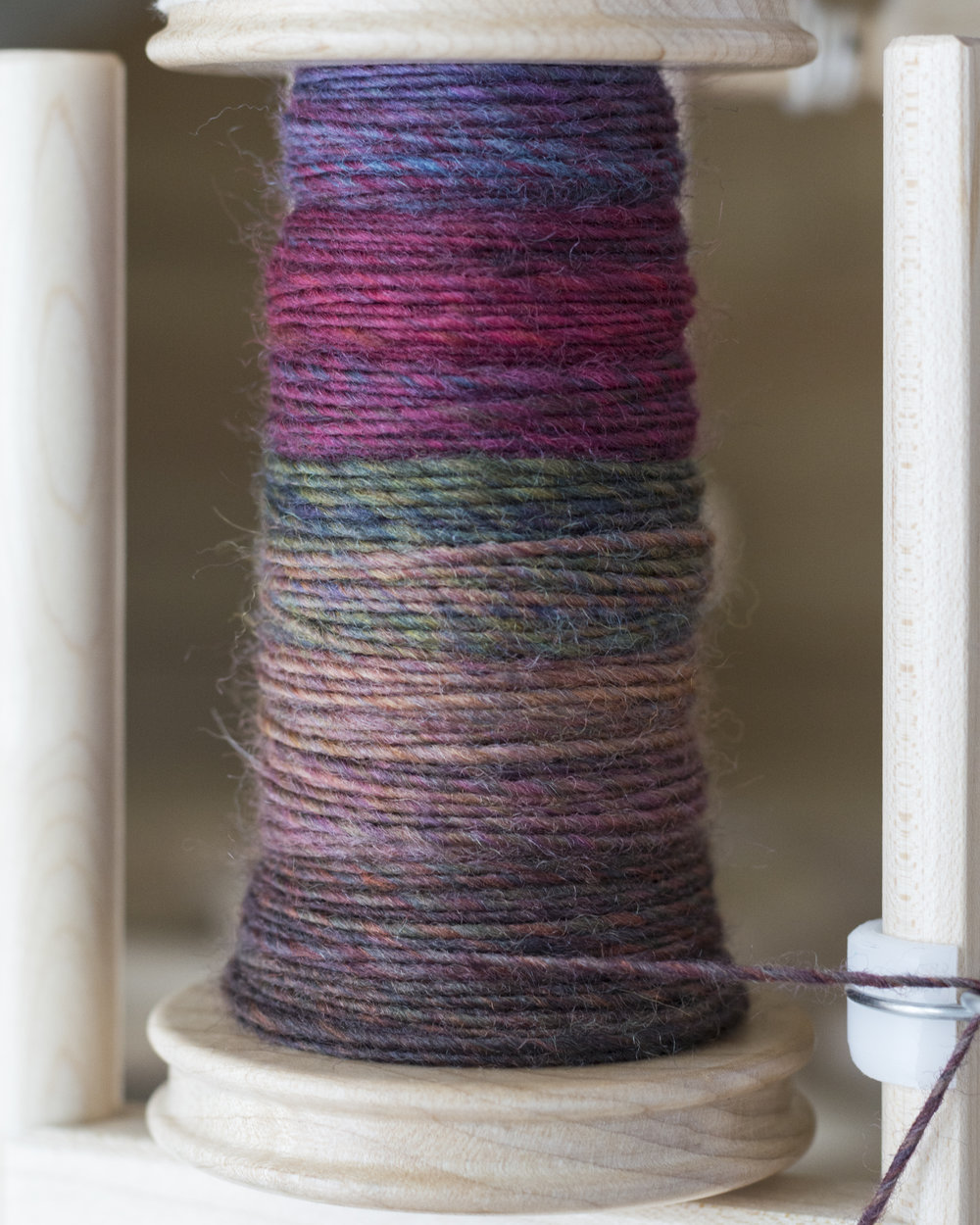 This is the fiber from JulieSpins that I mentioned in the episode. It's Falkland.