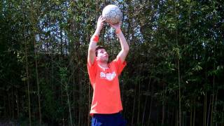How to Juggle a Soccer Ball with your Head