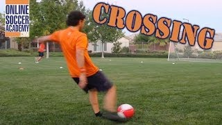 Advanced Soccer Crossing Drill