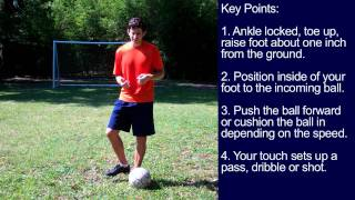 How to Receive a Soccer Pass