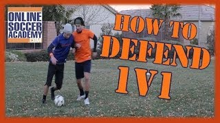 1v1 Defending - Learn Basic & Advanced Techniques