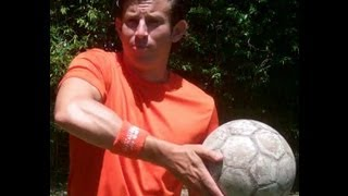Hand Roll Soccer Juggling Pick Up Trick