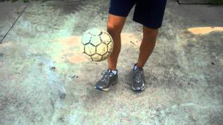 Soccer Ball Pick Up Trick