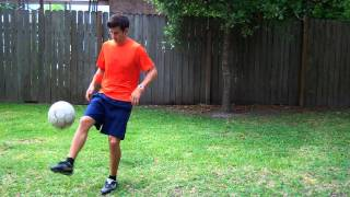 Toe Bounce Soccer Trick