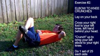 Abs Exercise Session #1