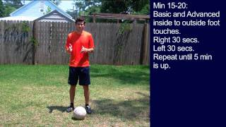 #5 Soccer Training Session