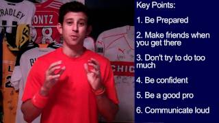 Soccer Tryouts Advice