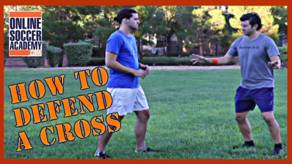 How to Defend a Soccer Cross
