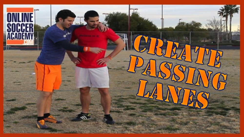 How to Create Passing Lanes while Dribbling - Advanced