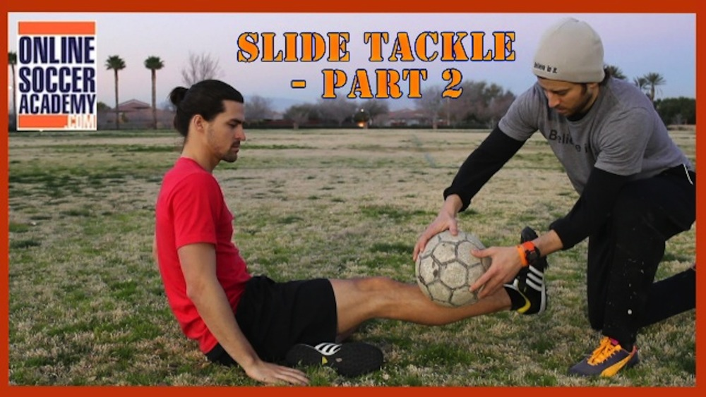 How to Slide Tackle - Part 2