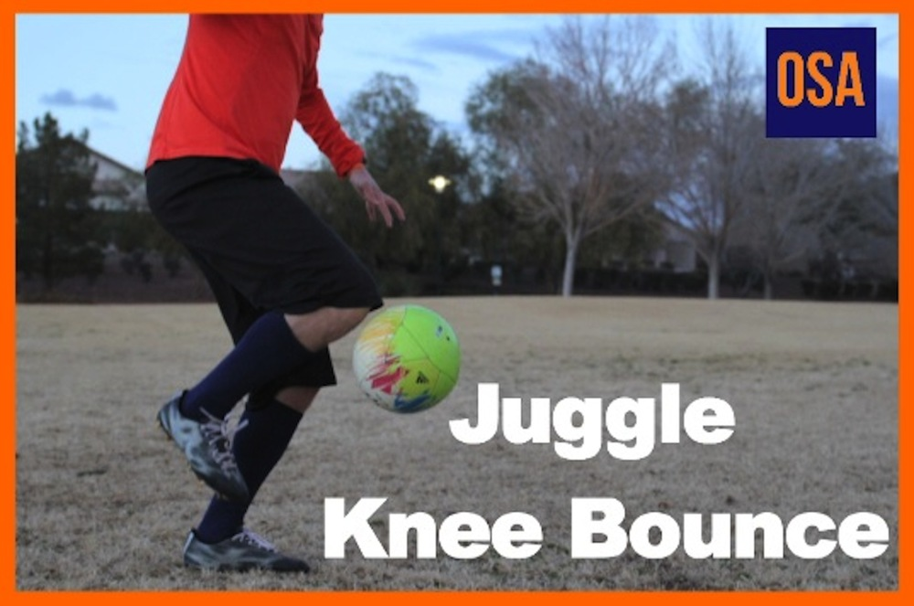 How To Do Juggle To Knee Bounce