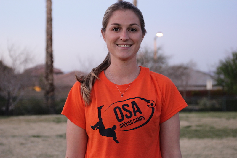 Emily Grant - Former pro, current D1 college coach and OSA Coach