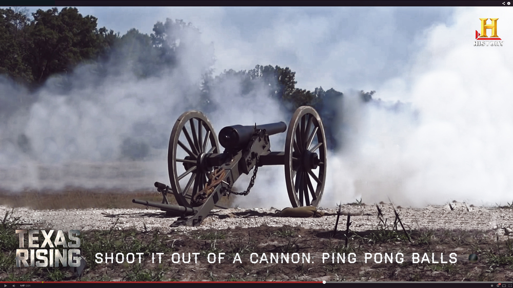 Shoot It Out a Cannon