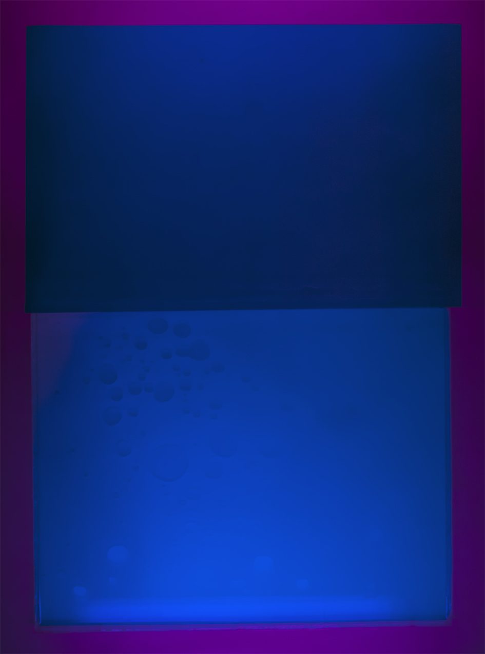 Syvät siniset, 135x100cm, 2018