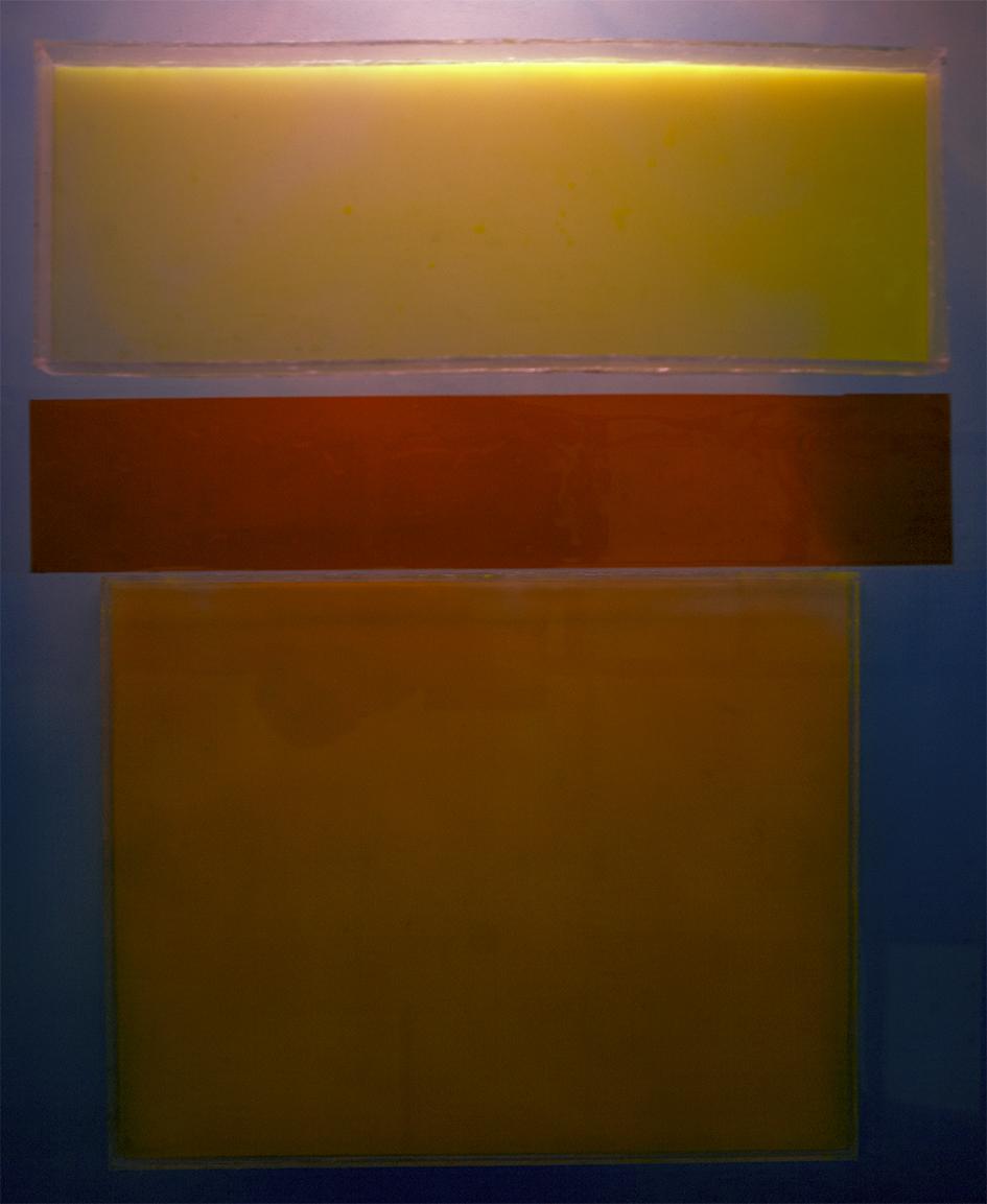 Kultaa keltaisemmat, 122x100cm, 2018