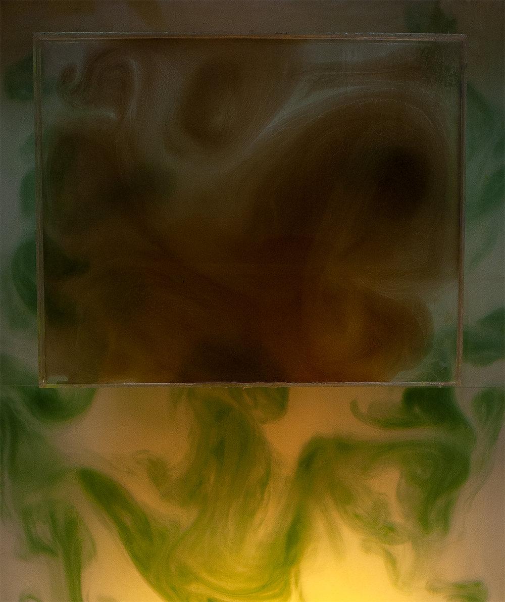 Suurennos värikerroksista, 80x95cm, 2019