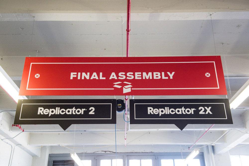 Final Assembly station