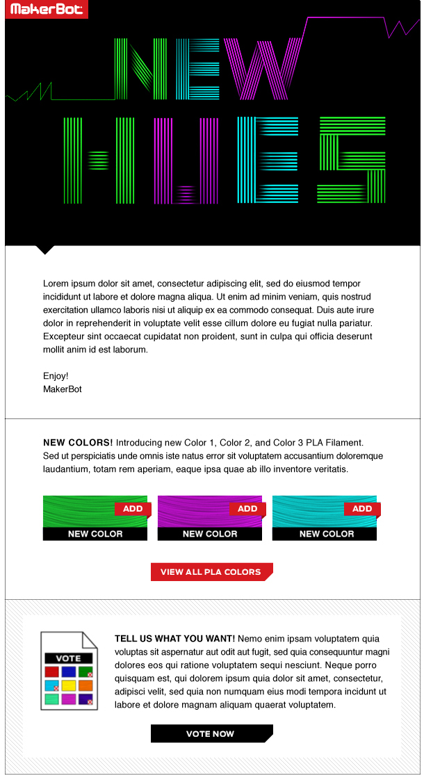 Filament campaign template