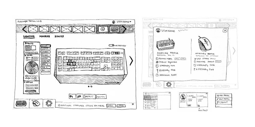 Keyboard Lighting UI, Accessory Profile Overlay