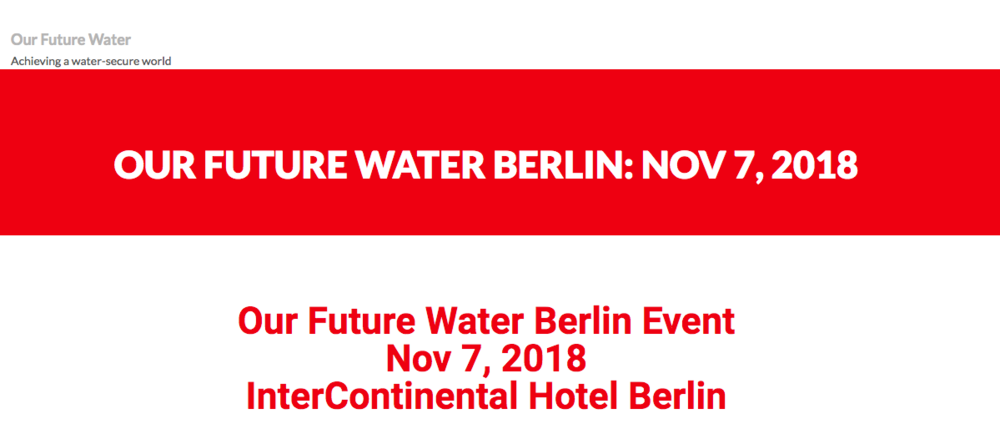 360 Agency Berlin Our Future Water Berlin