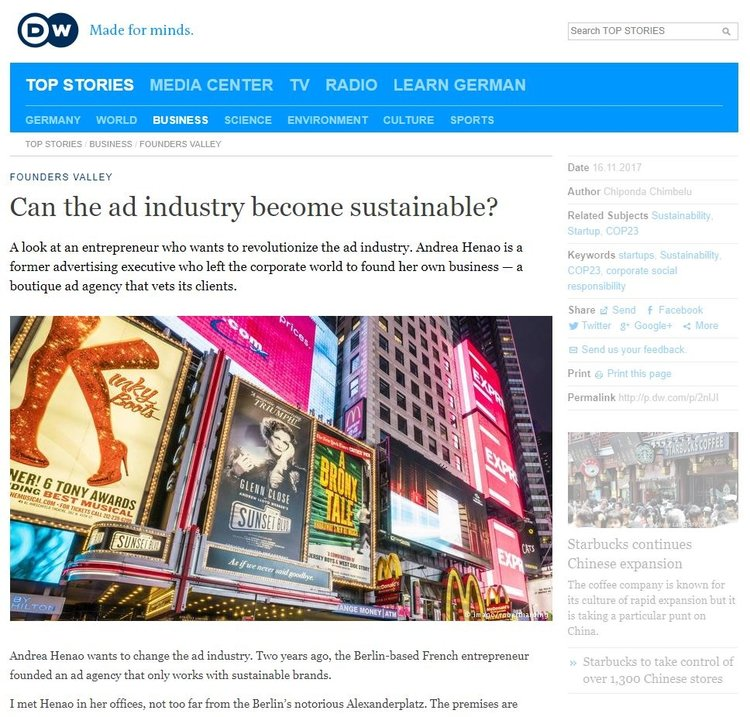 DW+Can+The+Industry+become+Sustainable+360+Agency berlin+Andrea+Henao+interview.jpg