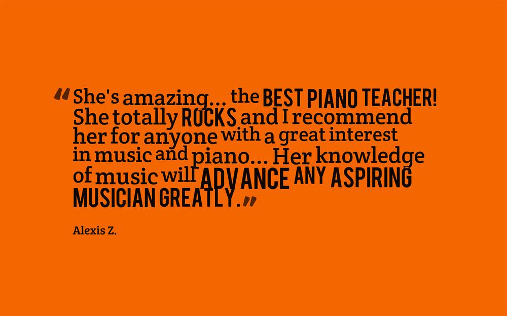 Piano Lesson Testimonial 02