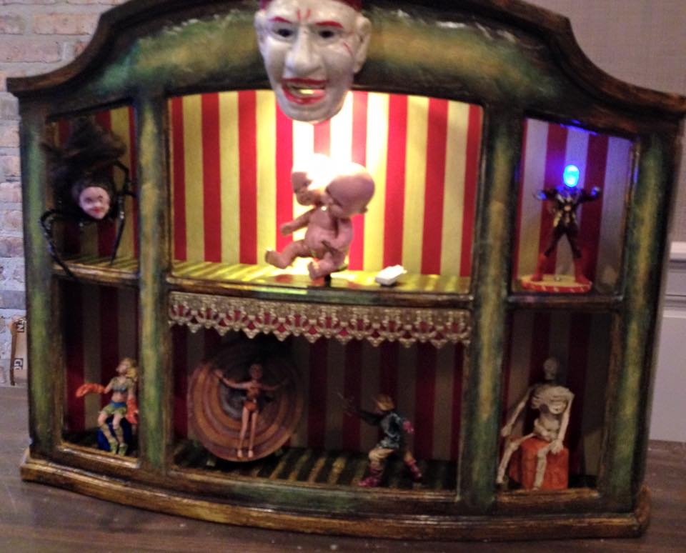 Sideshow Tent by Kathy Gould