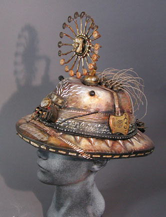Expedition Hat - I went through a hat-making phase.  This one was wearable...but not exactly comfortable.