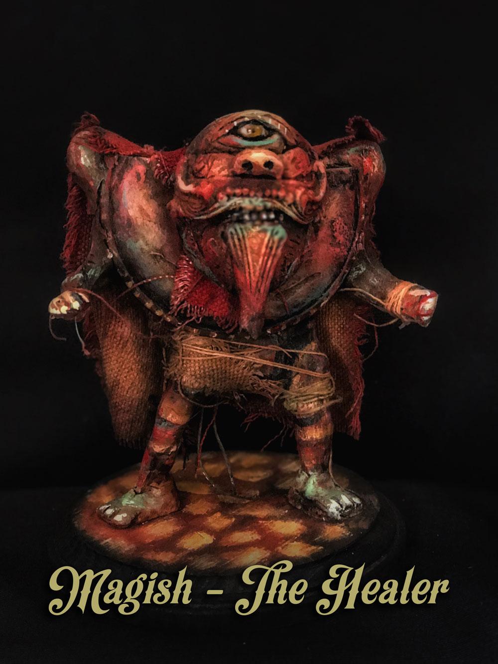 Magish - the Healer