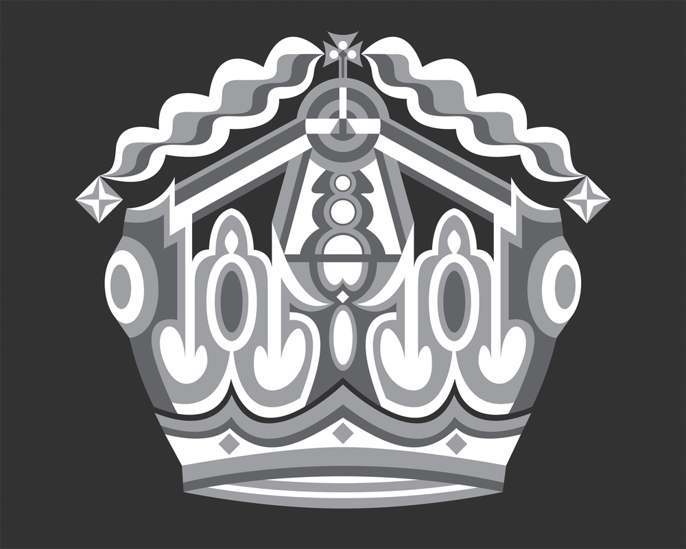 Majesty Surpassed (Version II), 2005 computer generated vector art