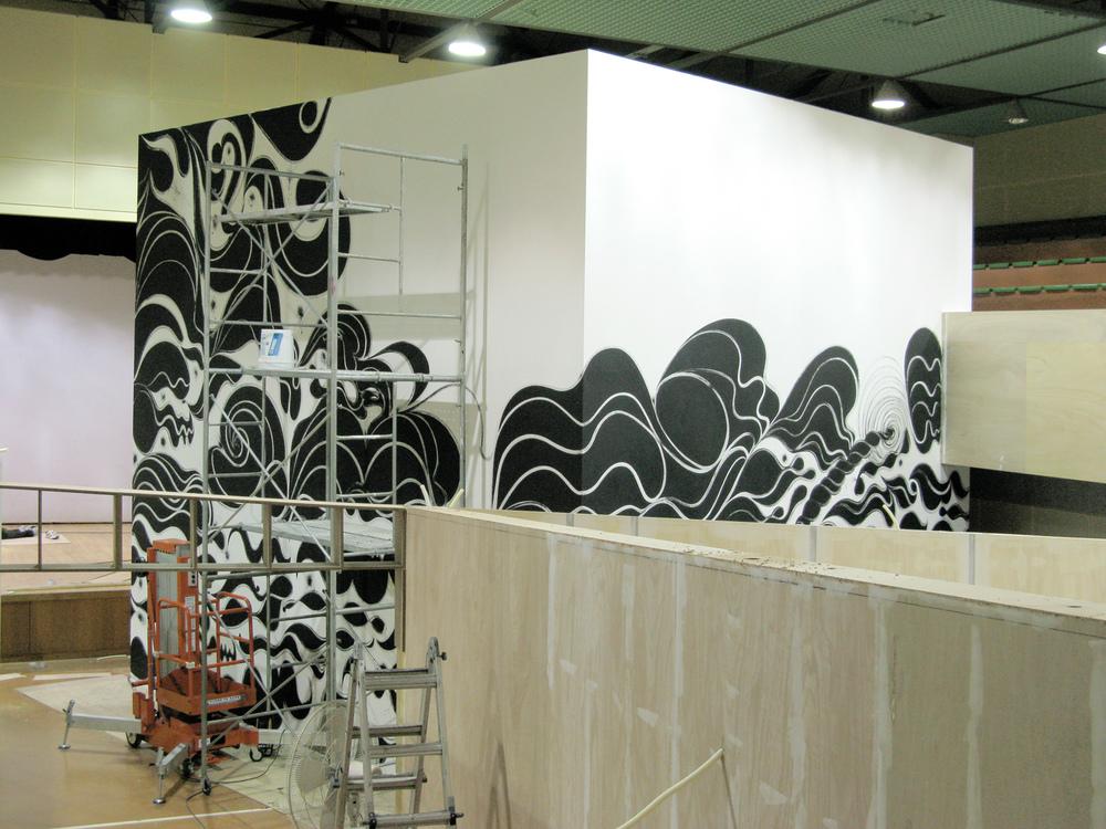 Installation view, Now Jump , Nam June Paik Art Center, Seoul, 2008